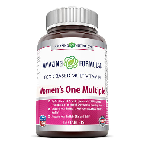 Amazing Formulas Women s One Multiple - 150 Tablets 25 Million