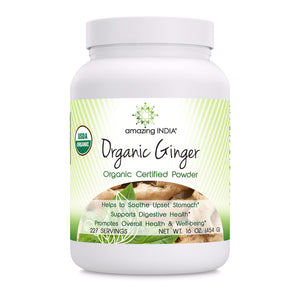 Amazing India Organic Ginger Powder 16 Oz
