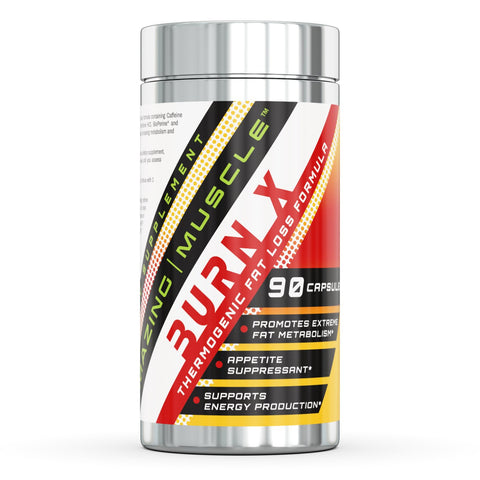Amazing Muscle Burn X 90 Capsules Advanced Thermogenic Fat Burner