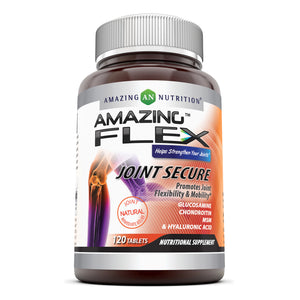 Amazing Flex Joint Secure 120 Tablets - Amazing Nutrition