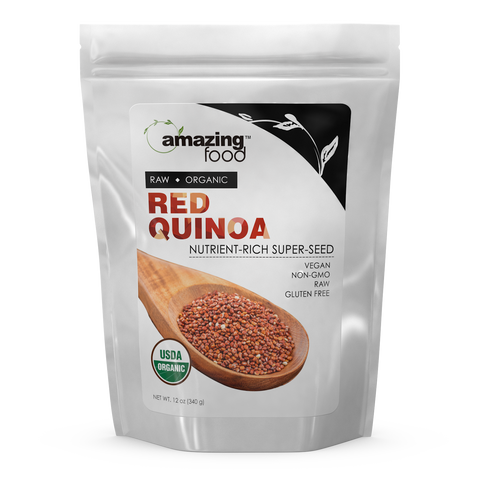 Image of Amazing Food Organic Red Quinoa 12 Oz