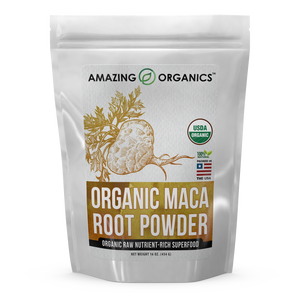 Amazing Organics Organic Maca Root Powder 16 Oz 454 G