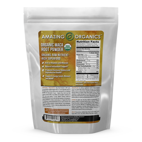 Image of Amazing Organics Organic Maca Root Powder 16 Oz 454 G
