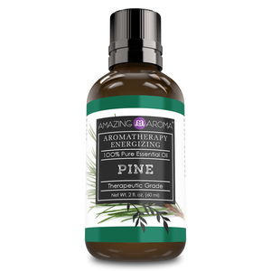 Amazing Aroma Pine Essential Oil 2 Oz - Amazing Nutrition