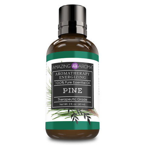Image of Amazing Aroma Pine Essential Oil 2 Oz - Amazing Nutrition