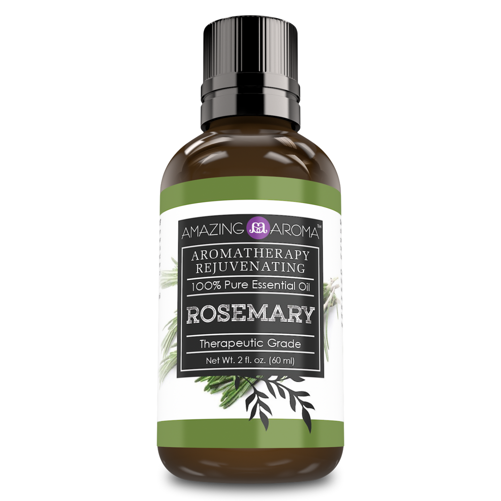 Amazing Aroma 100% Pure Rosemary Essential Oil 2 Fl Oz - Amazing Nutrition