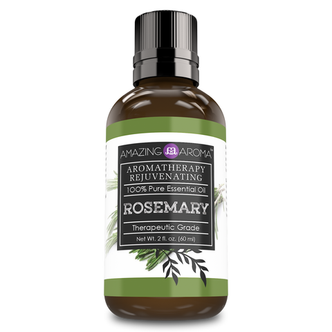 Image of Amazing Aroma 100% Pure Rosemary Essential Oil 2 Fl Oz - Amazing Nutrition