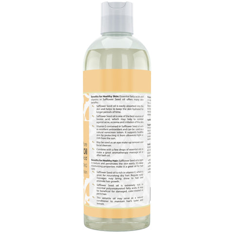 Image of Beauty Aura Pure Safflower Oil 16 Fl Oz 473 Ml
