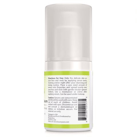 Image of Beauty Aura Divine Collection Spot Erase Facial Serum 2 Fl Oz (60 ml) - Packed with antioxidants, DMAE and Hyaluronic Acid