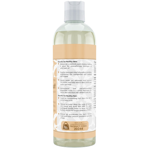 Image of Beauty Aura Pure Walnut Oil 16 Fl Oz 473 Ml
