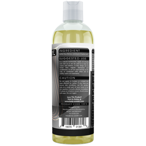 Image of Body Wonders Castor Oil 16 Fl Oz (473 Ml)