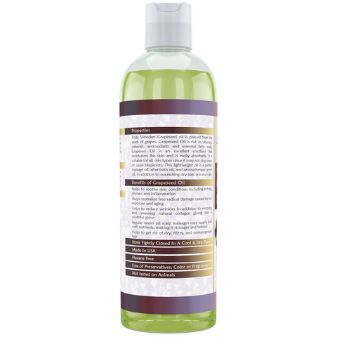 Image of Body Wonders Grapeseed Oil 16 Fl Oz (473 Ml)