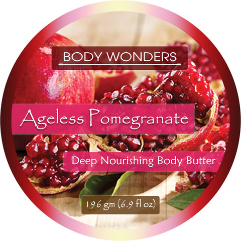 Image of Body Wonders Ageless Pomegranate Deep Nourishing Body Butter 196 Gm 6.9 Fl Oz