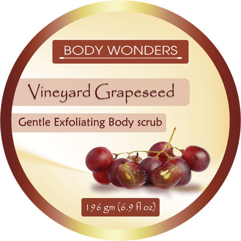 Body Wonders Vineyard Grapeseed Body Scrub 196 Gm (6.9 Fl Oz)