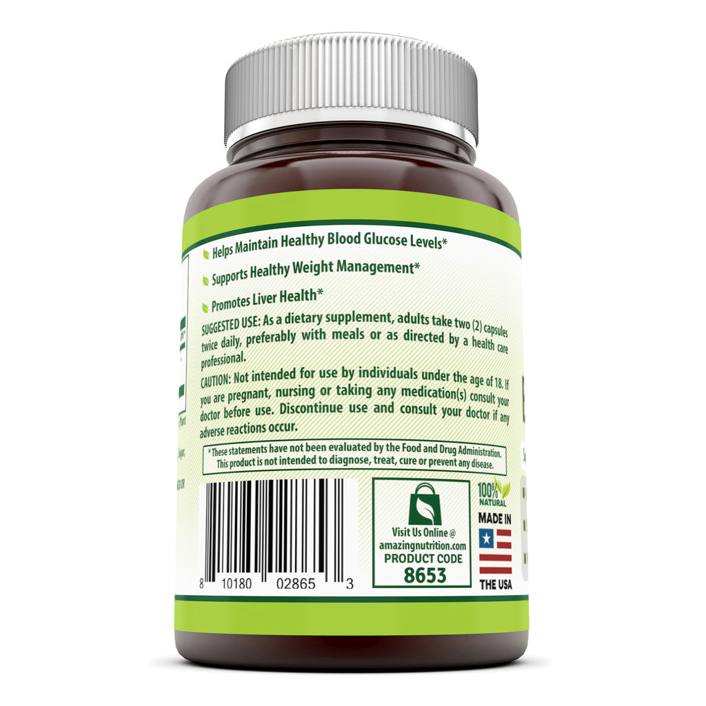 Herbal Secrets Bitter Melon 1000 Mg 120 Capsules