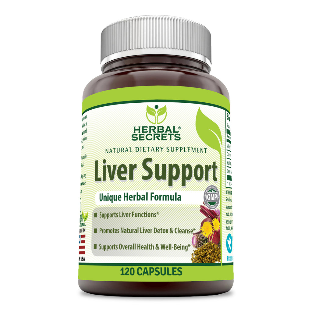 Herbal Secrets Liver Support 120 Capsules