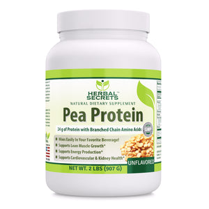 Herbal Secrets Pea Protein UnFlavored 2 Lbs (907 Gram)