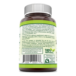 Herbal Secrets Saw Palmetto 320 Mg 90 Softgels
