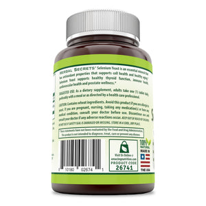 Herbal Secrets Selenium Yeast 200 MCG 240 Tablets