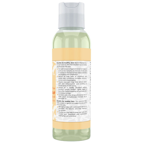 Image of Beauty Aura Apricot Oil 4 Fl Oz 118 Ml