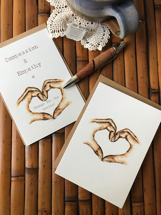 Notecards - Heart (Compassion)
