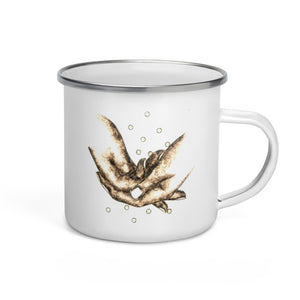 """FAITH"" Enamel Mug"
