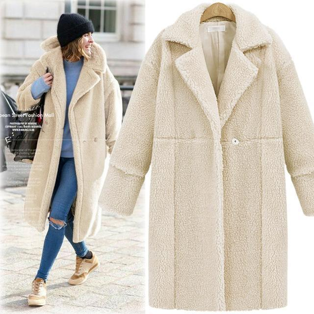 Dadichic.com Clothing Thick Woolen Coats Blends Jackets Slim Casual Overcoat