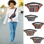 Outdoor Sports Ethnic Style Waist Bag