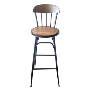 Silla bar metal