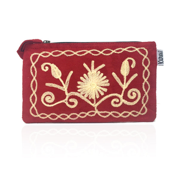 Ruby Maise Himalayan Collection Wristlet Clutch