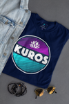 KUROS Throwback Short-Sleeve (Navy/Purple/Teal)