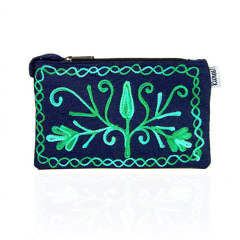 Himalayan Wristlet - Midnight Meadow