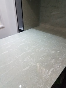 Azimuth Ambire Laminated Glass Fabric, Silver