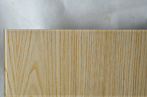 QuickShip OrganicA™ Oak FC Wood Veneer Laminated Glass