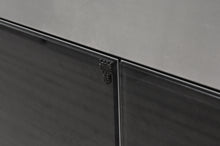 Genuine Black Dyed Eucalyptus Wood Veneer Laminated Glass