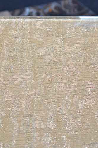 Azimuth Ambire Laminated Glass Fabric, Champagne