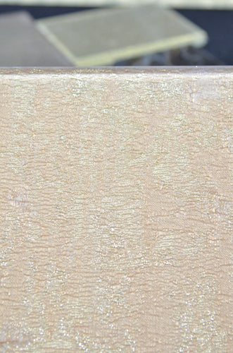 Azimuth Ambire Laminated Glass Fabric, Blush