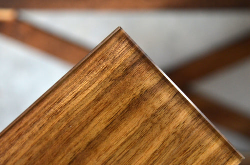 Genuine Walnut Veneer Ultra Clear OrganicA™ Laminated Glass