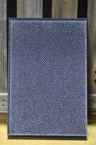 Silver/Gray Diamond Sparkle Metallic Mesh OrganicA™ Laminated Glass Fabric
