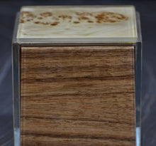 laminated glass wood box
