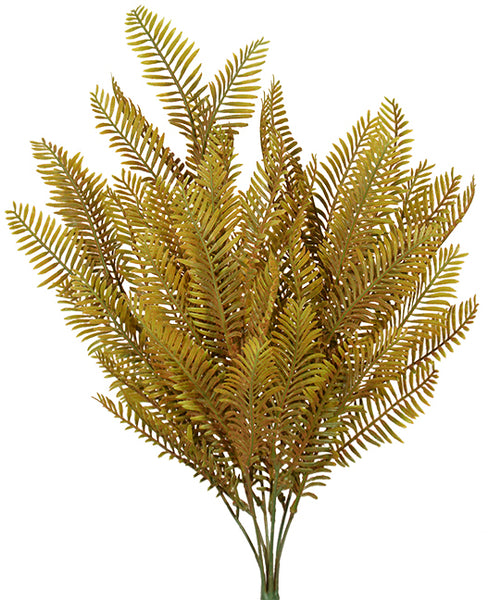 "21"" Fern Bush- Brown SKU 10923BRN"