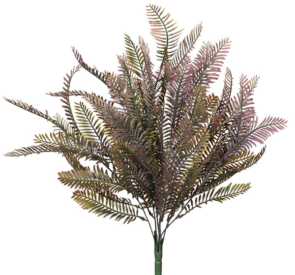 "21"" Fern Bush- Purple SKU 10924PU"