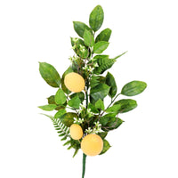 "25"" Lemon Fern Leaf Spray- Green/Yellow SKU 277670"
