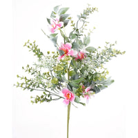 "21"" Peach Blossom Spray-Dusty Pink  SKU 287676"