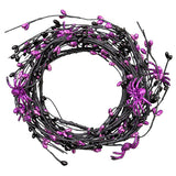 5 Ft  Spider Garland- Black/Purple  SKU 30079051