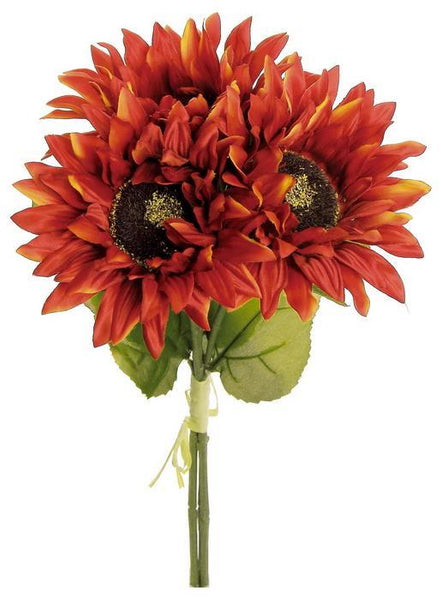 "16"" Sunflower Bundle-Flame   SKU 3931-FL"
