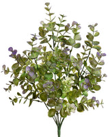 "17"" Eucalyptus Bush- Purple SKU 43128PU"
