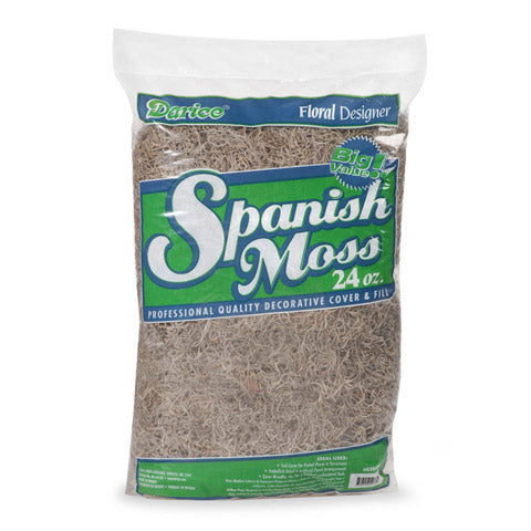 24oz Bag Spanish Moss  SKU B50006