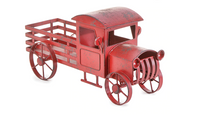 Metal Red Truck  SKU 8777-2018-05