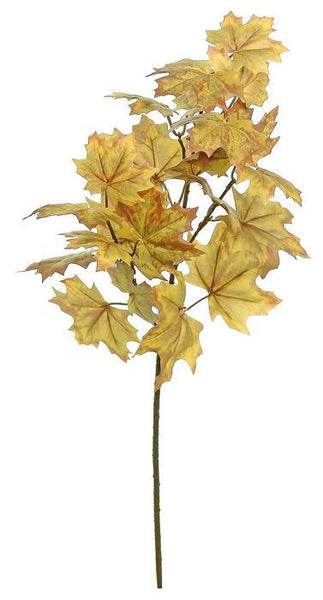 "33"" Maple Leaf Spray-Gold/Brown  SKU FL3975-GOBRN"